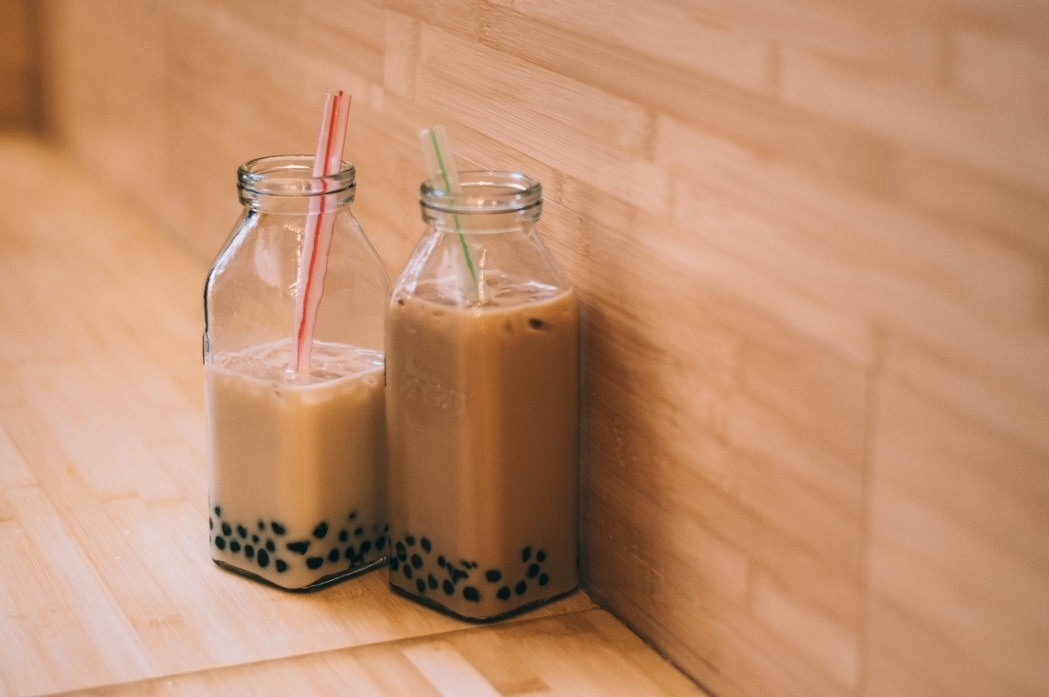 resep bubble tea korea