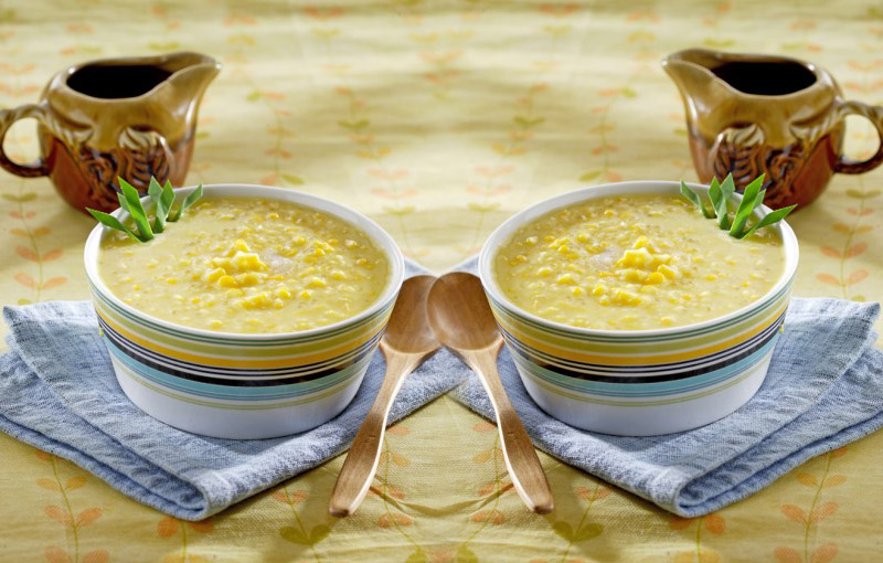 resep bubur jagung mutiara