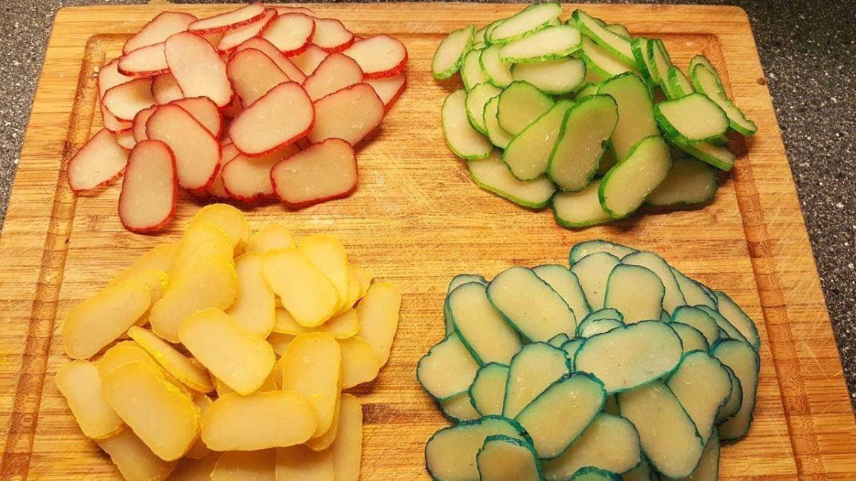 Resep membuat kerupuk bawang warna warni
