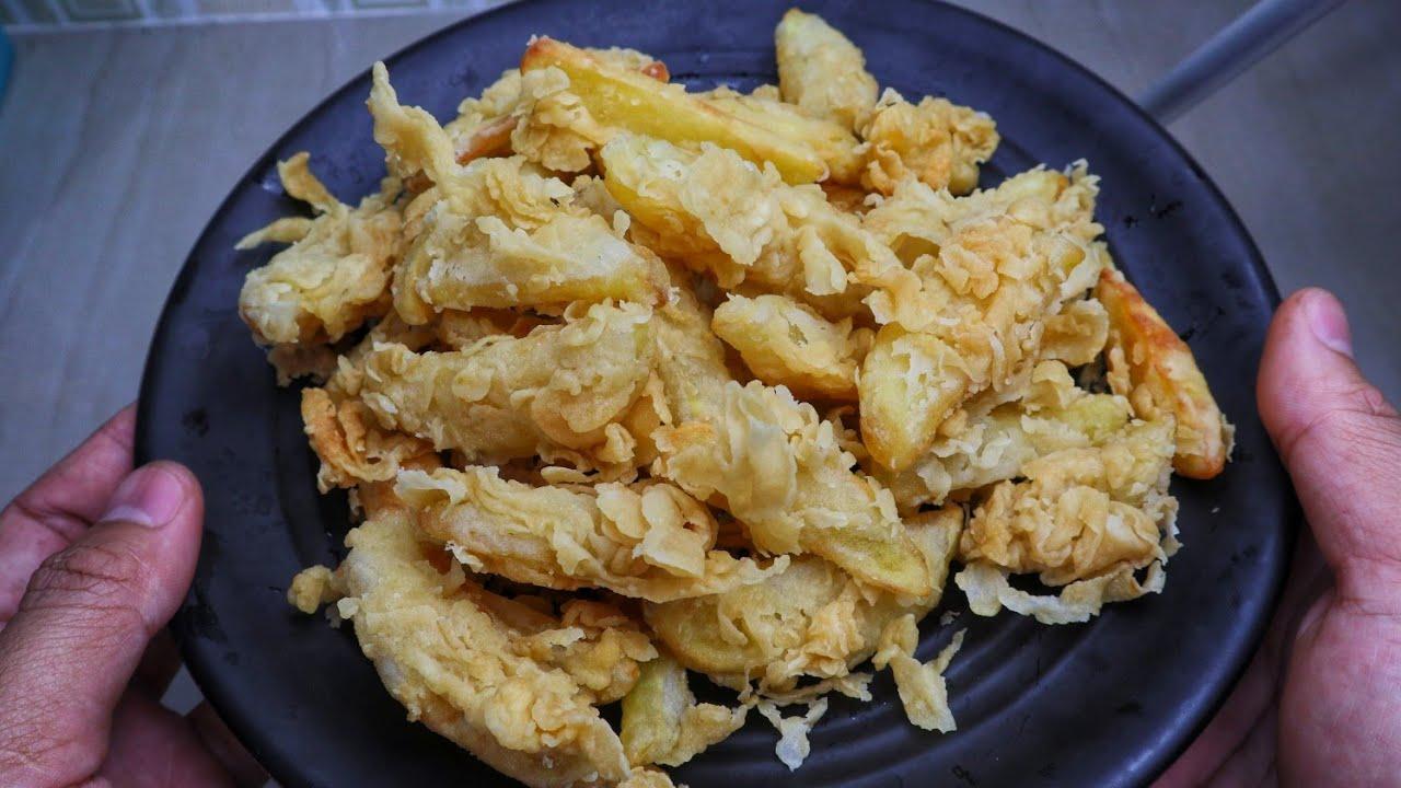 kentang tepung crispy