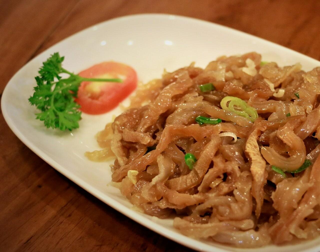Mie Tiaw Goreng Ayam