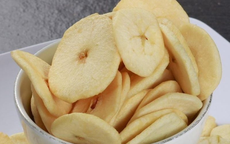 Cara Membuat Keripik Apel Gurih
