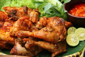 Resep ayam bakar madu pedas
