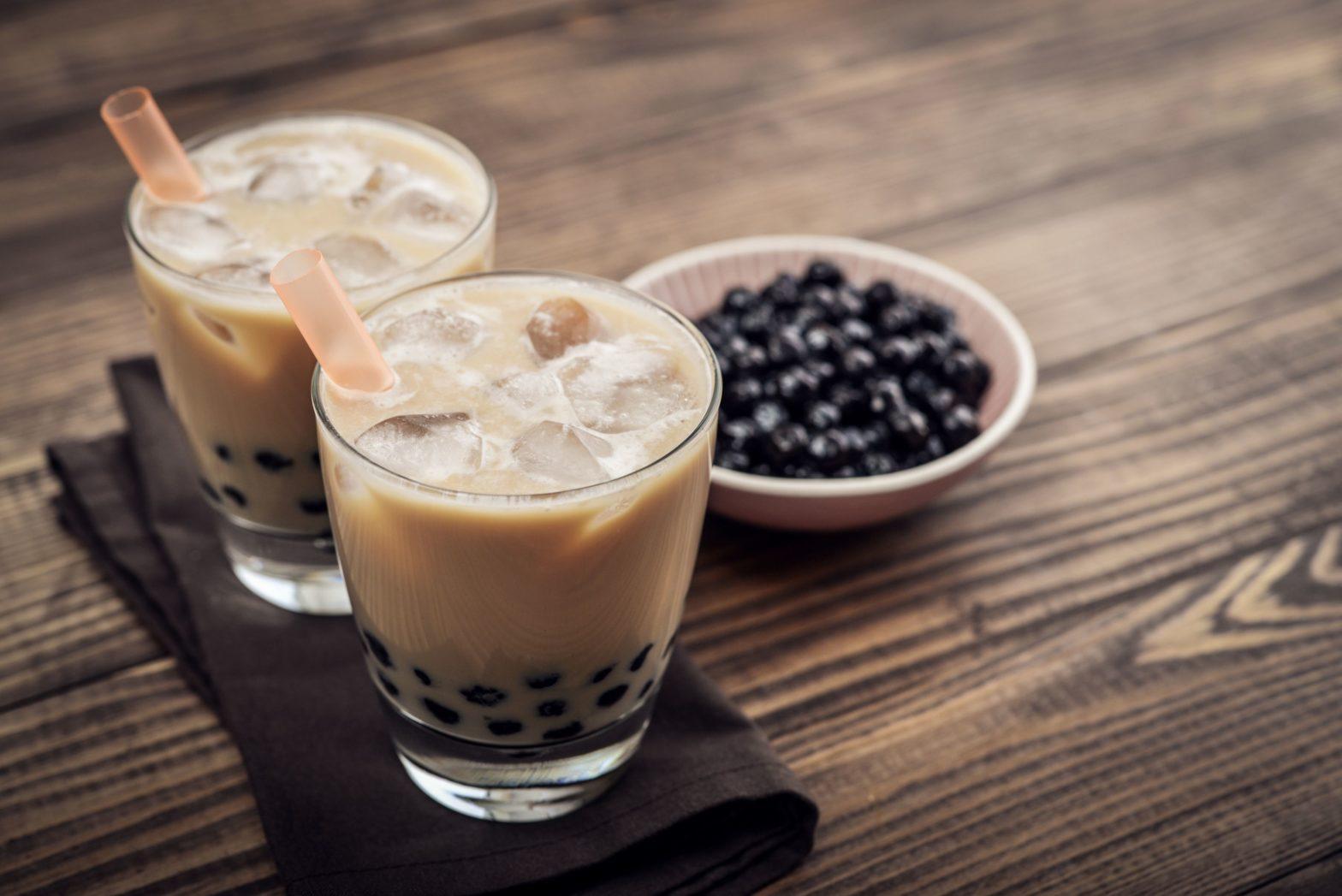 resep bubble tea korea