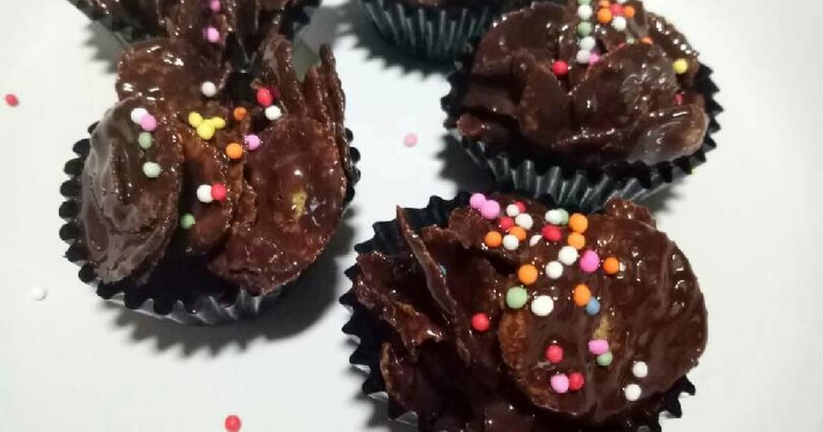 Cara membuat keripik jagung cokelat