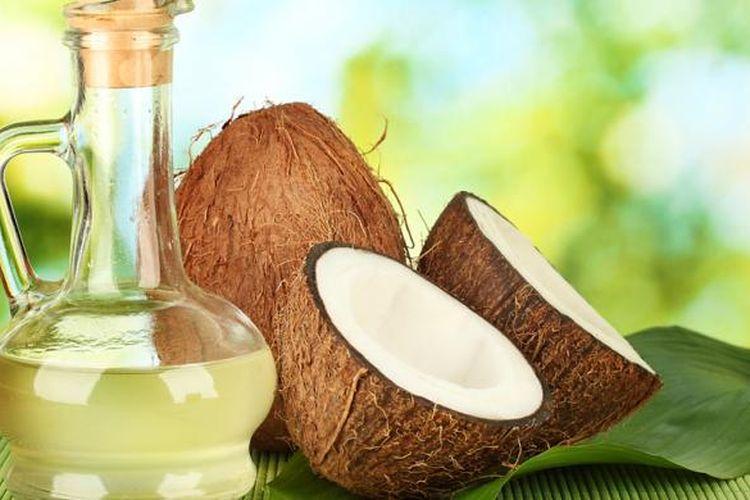 buat minyak kelapa murni