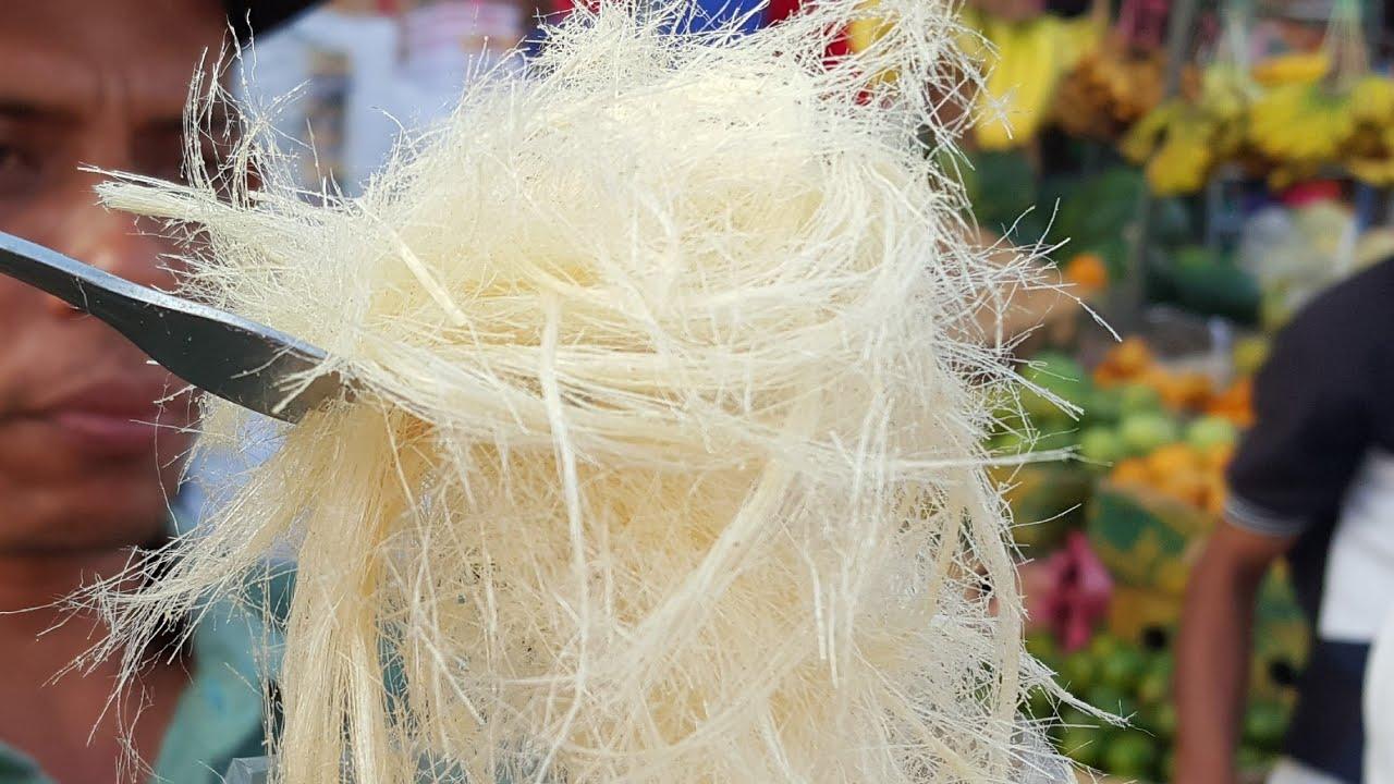 Cara Membuat Rambut Nenek Arum Manis